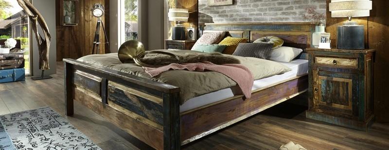 Armadio guardaroba stile Industrial Old Camere da letto vintage