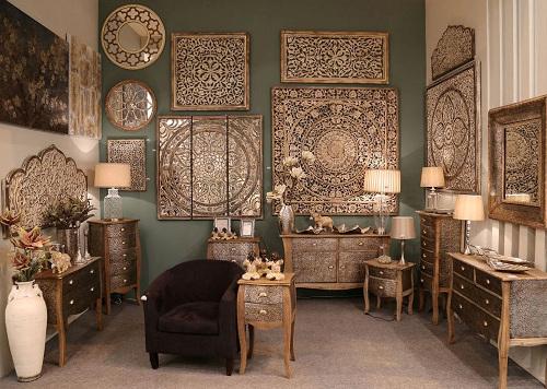 Mobili etnici on line vendita prezzi outlet mobili legno teak for Arredo shop online