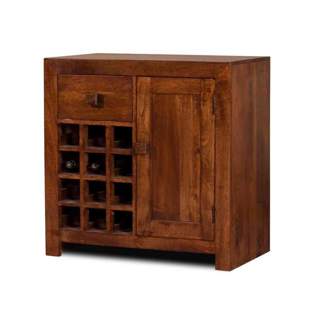 Credenza in legno massello for Vendita mobili etnici on line