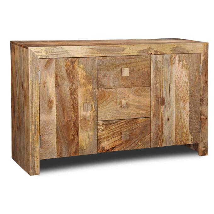 Mobile buffet etnico legno naturale - Mobili con legno riciclato ...
