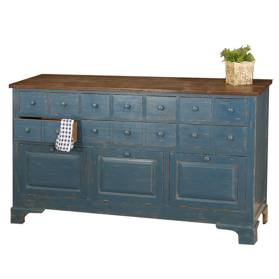 Mobili Shabby Country.Buffet Country Chic Decapato