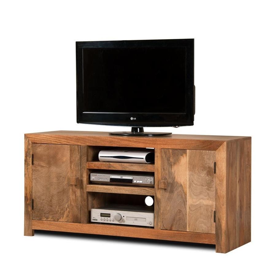 Porta tv etnico legno naturale