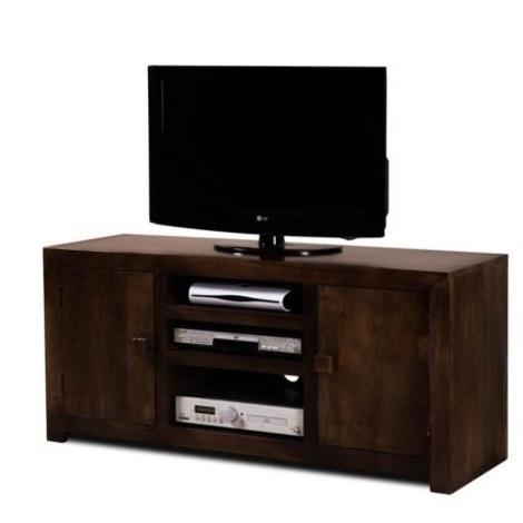 Porta tv etnico legno massello