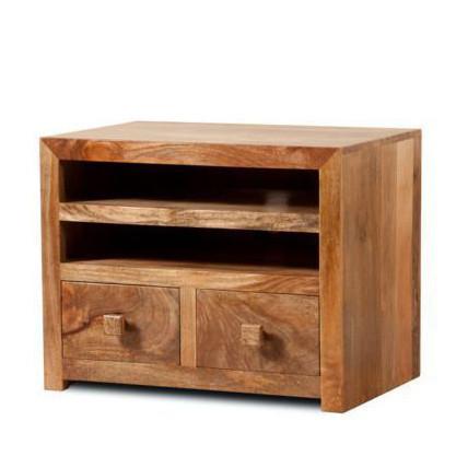 Porta tv legno naturale