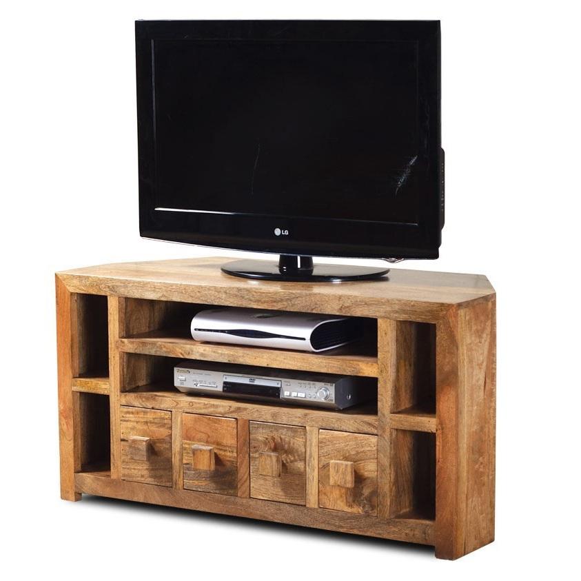 Porta tv etnico ad angolo mobili industrial vintage shabby chic - Ikea mobile porta tv ...