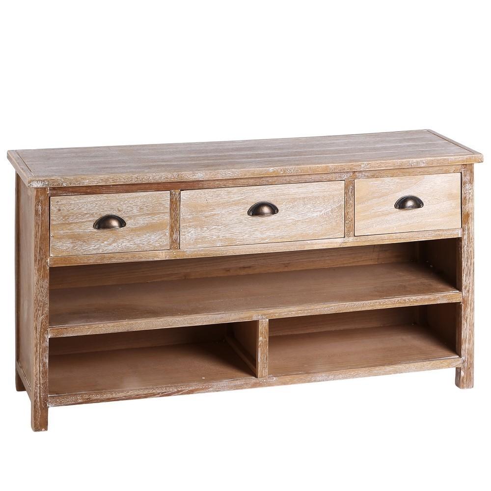 Mobile tv legno decapato mobili etnici provenzali shabby for Paulownia legno mobili