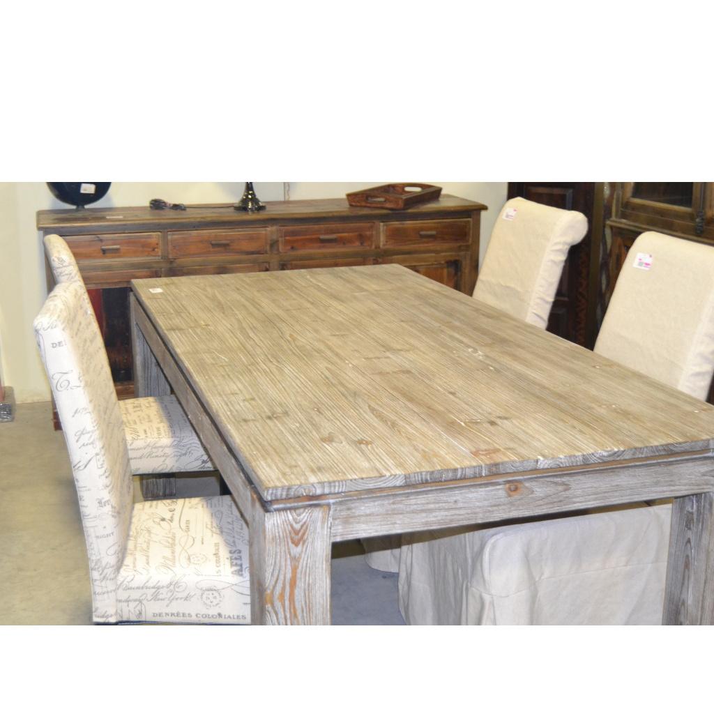 Tavolo etnico rusticato for Tavoli estensibili in legno