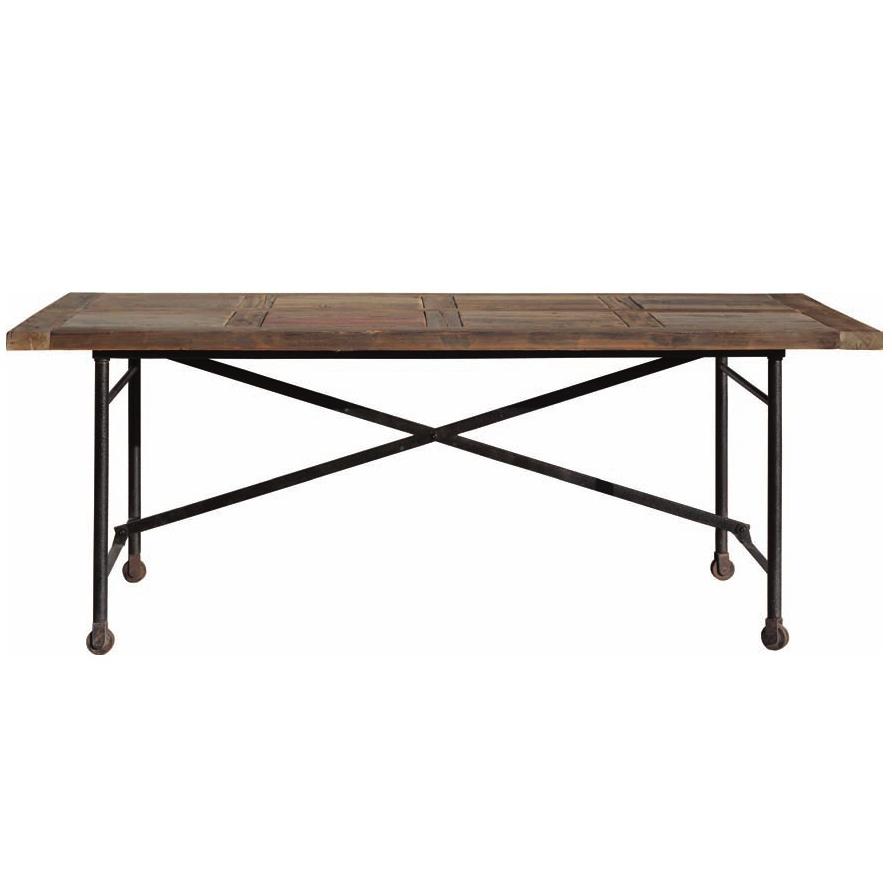 Tavolo vintage legno mobili etnici provenzali shabby chic - Tavoli in legno e ferro ...