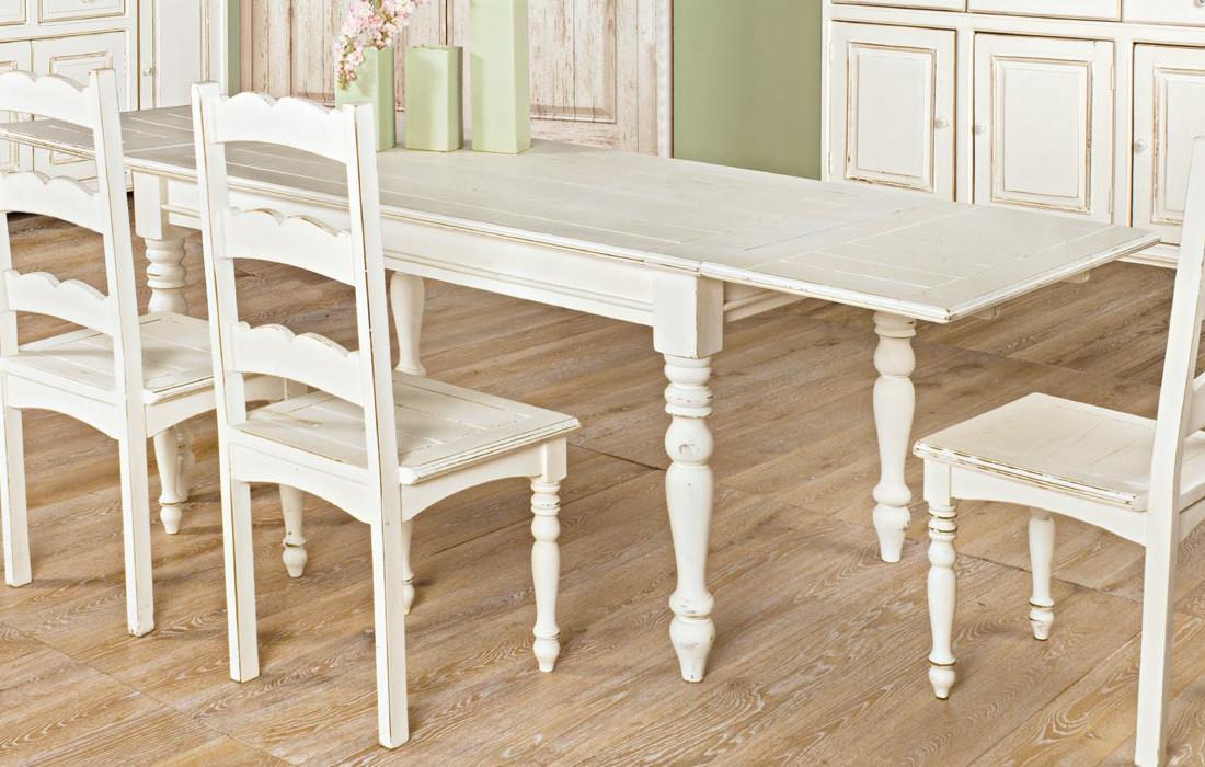 tavolo rettangolare shabby mobili etnici provenzali