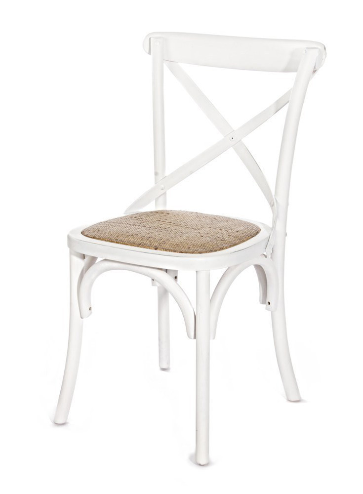 Sedia shabby bianca mobili etnici provenzali shabby chic - Sedia bianca legno ...