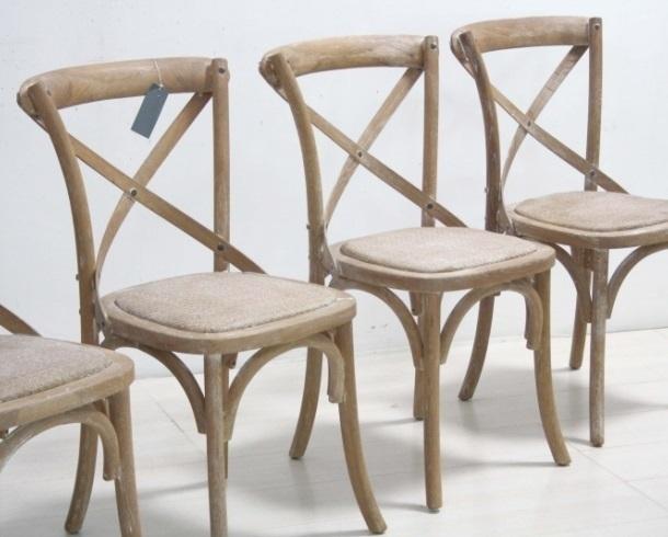 Sedia legno naturale mobili etnici provenzali shabby chic for Cassapanche economiche