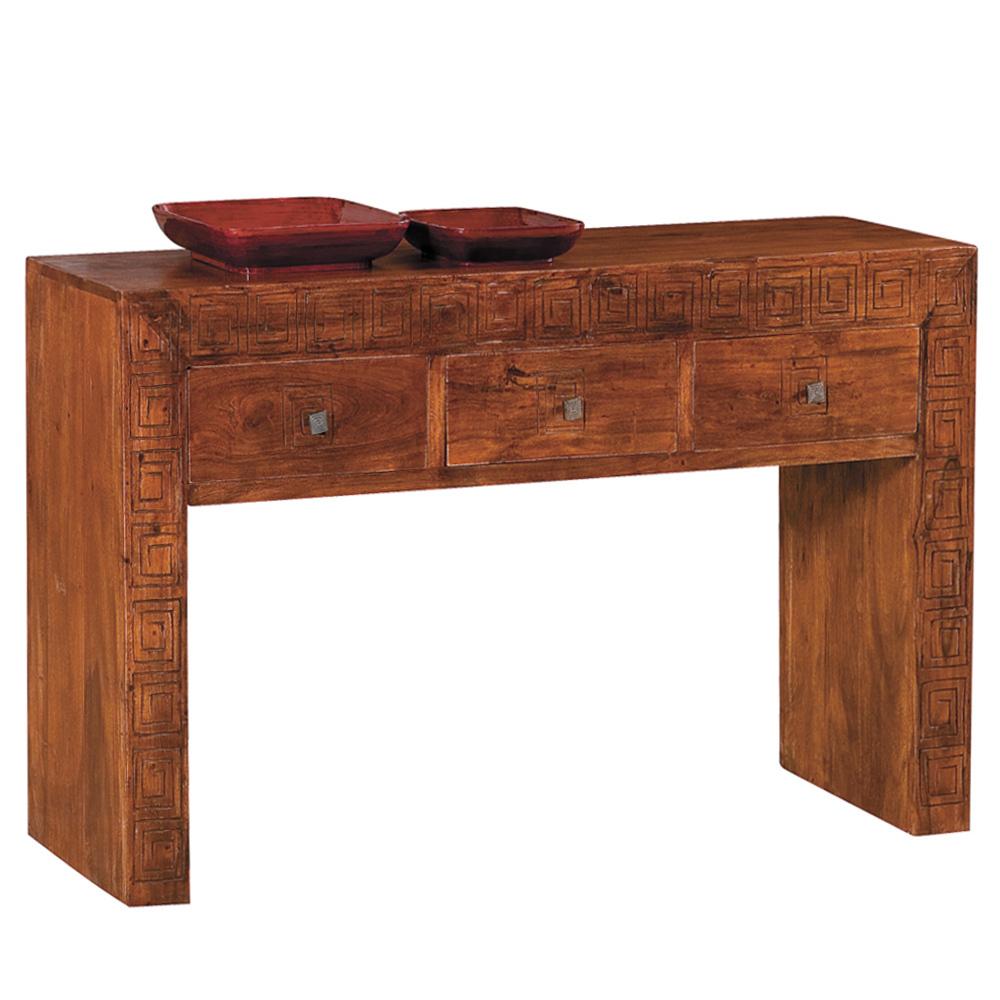 consolle etnica in legno massello mobili etnici