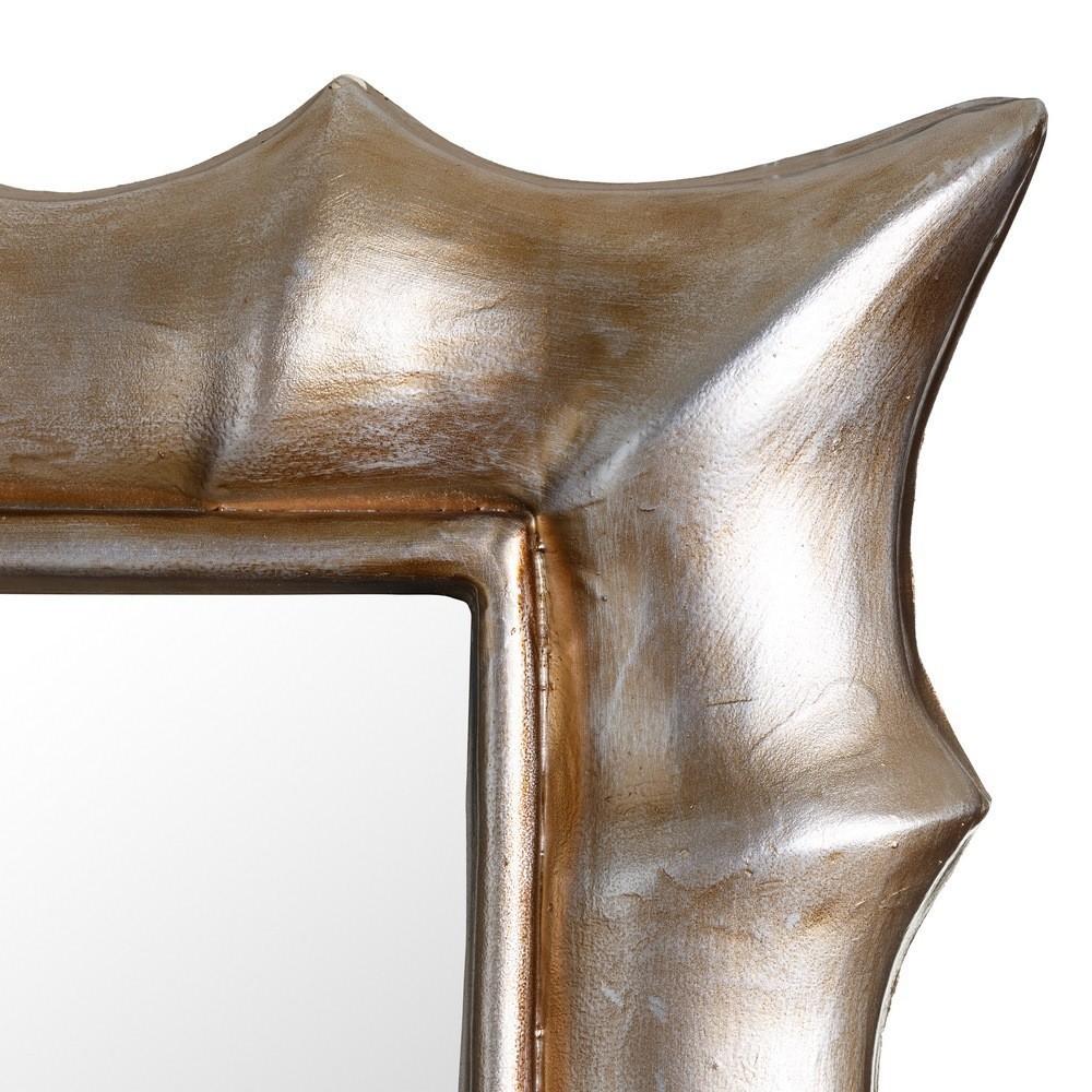 Specchio chic col argento antico mobili provenzali for Specchio argento