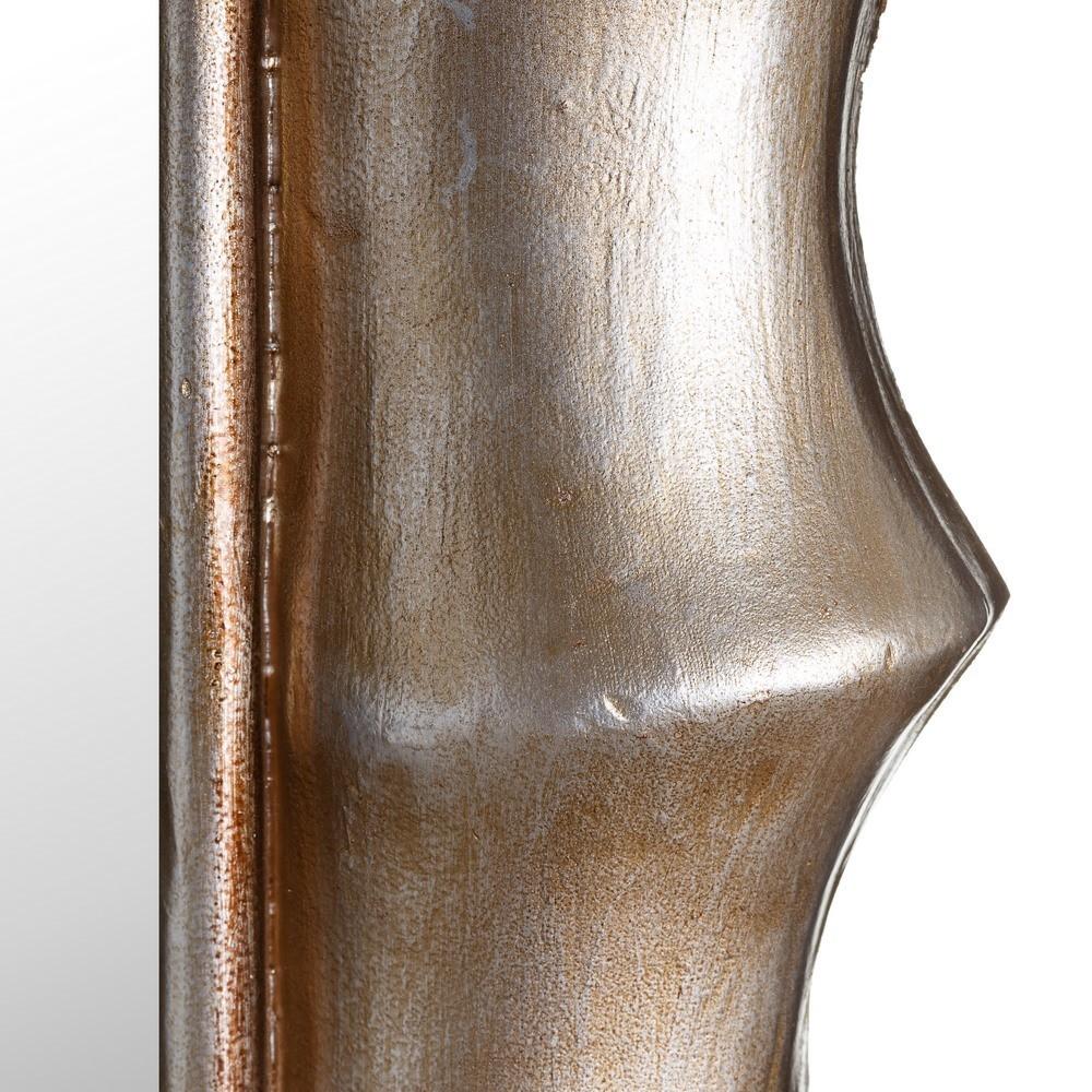 Specchio chic col argento antico mobili provenzali - Specchio argento moderno ...