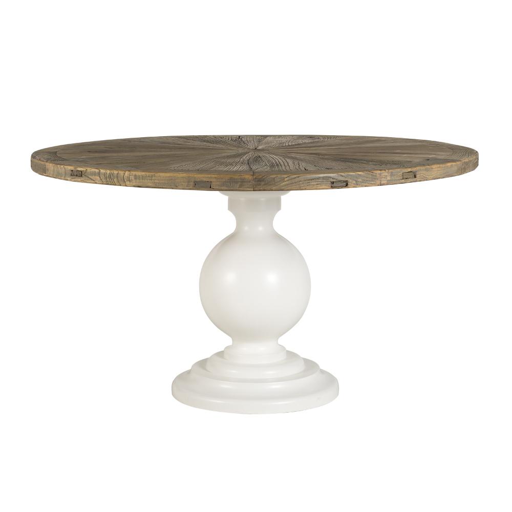Tavolo tondo shabby chic tavoli industrial vintage shabby chic - Dimensioni tavolo tondo 4 persone ...