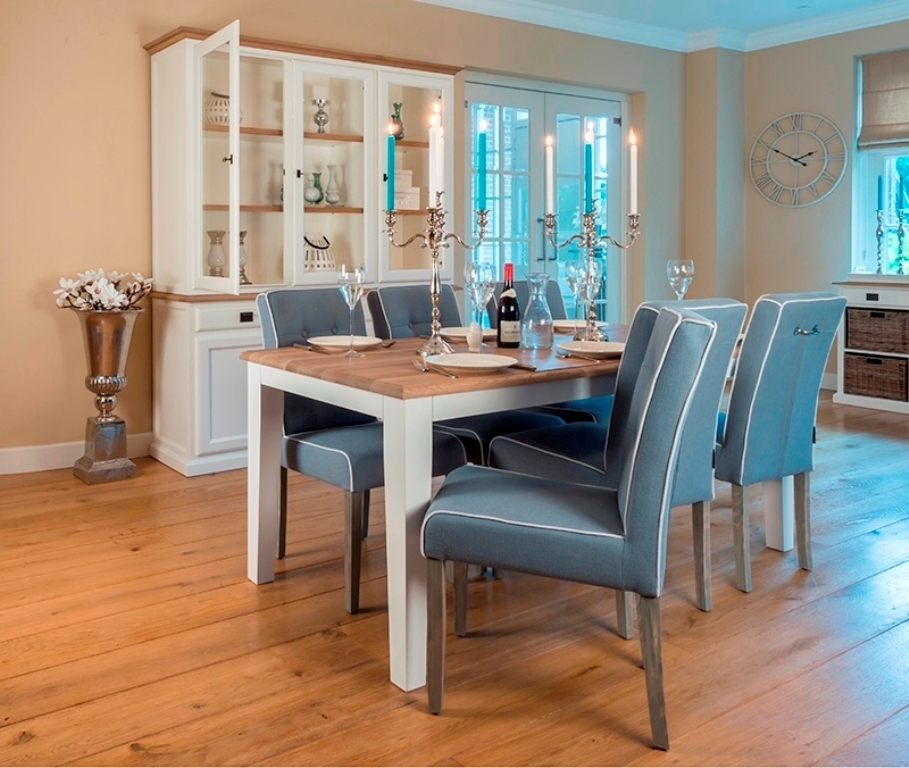 Tavolo allungabile legno massello tavoli provenzali - Mobili legno massello ...