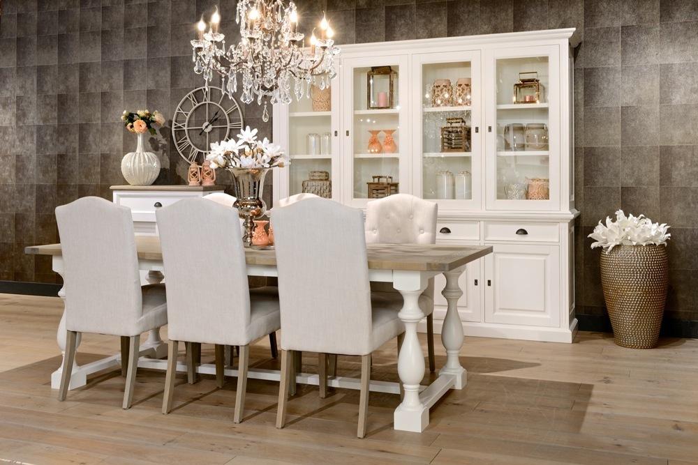tavolo bicolore country chic tavoli provenzali shabby chic. Black Bedroom Furniture Sets. Home Design Ideas