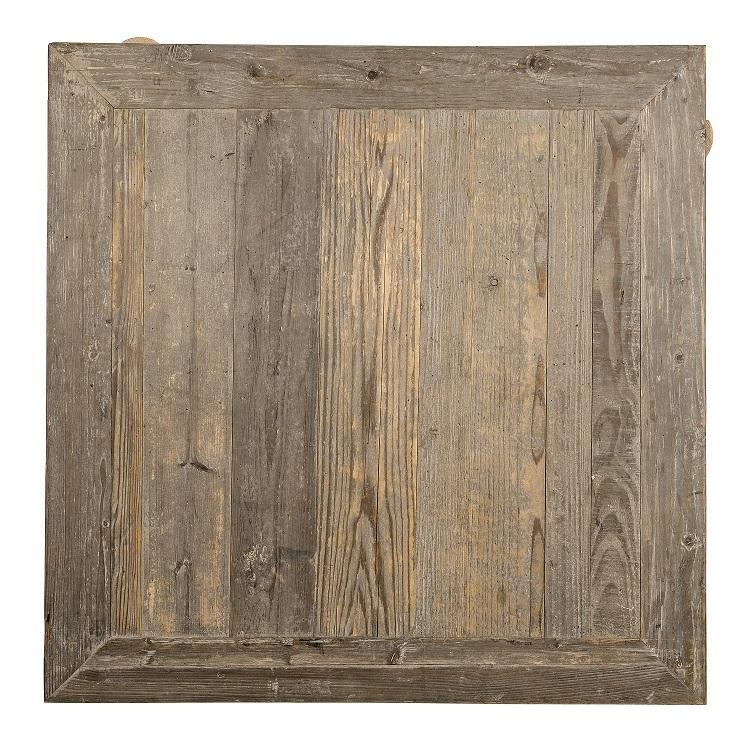 spesso Top tavolo legno pino vecchio - Mobili etnici provenzali shabby chic II18