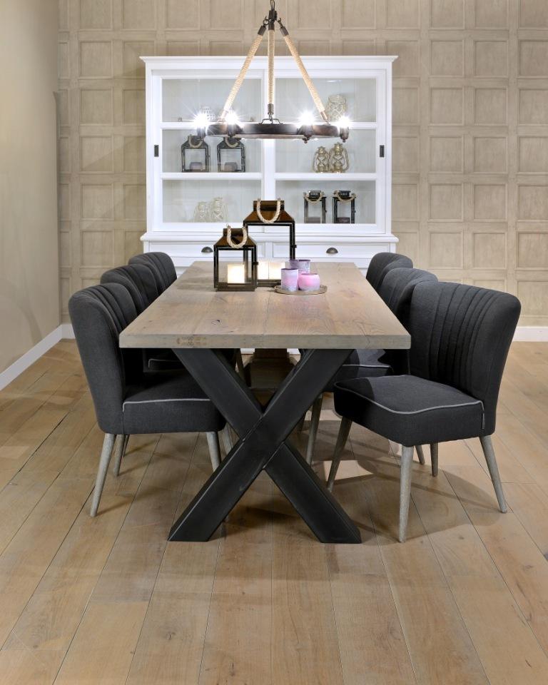 Tavolo industrial legno ferro tavoli vintage vendita online - Tavolo legno ferro ...