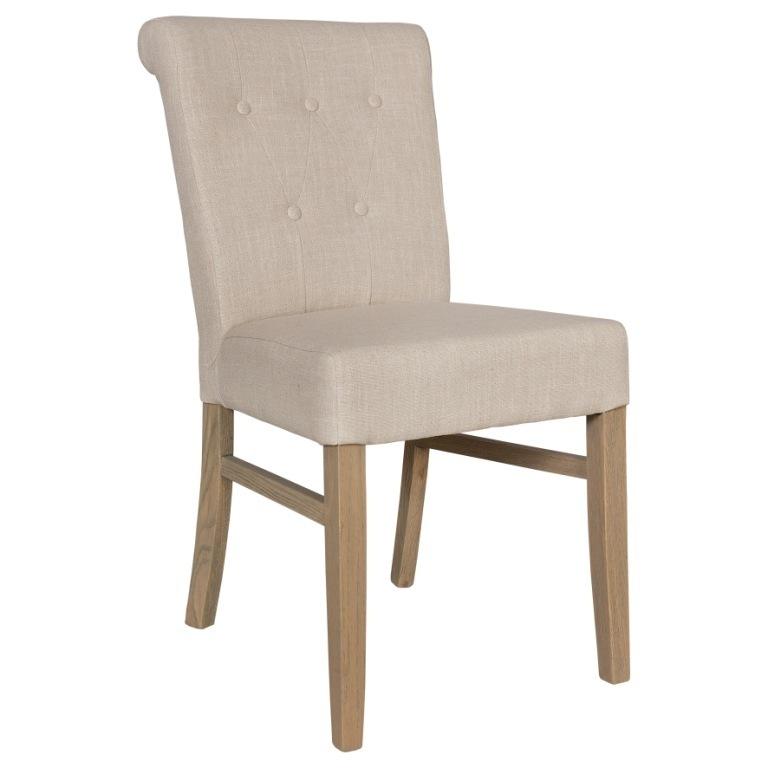 Sedia francese capitonn sedie provenzali shabby chic - Leer capitonne ...