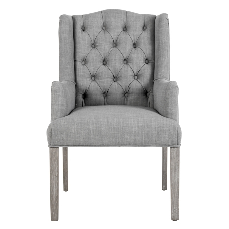 Poltroncina chesterfield grey poltrone provenzali shabby chic for Poltrone provenzali