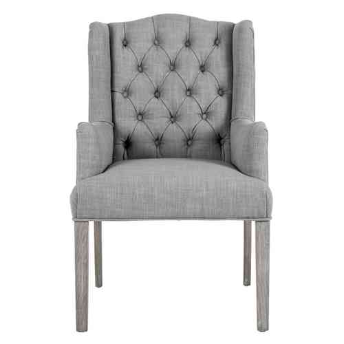 Poltroncina chesterfield grey