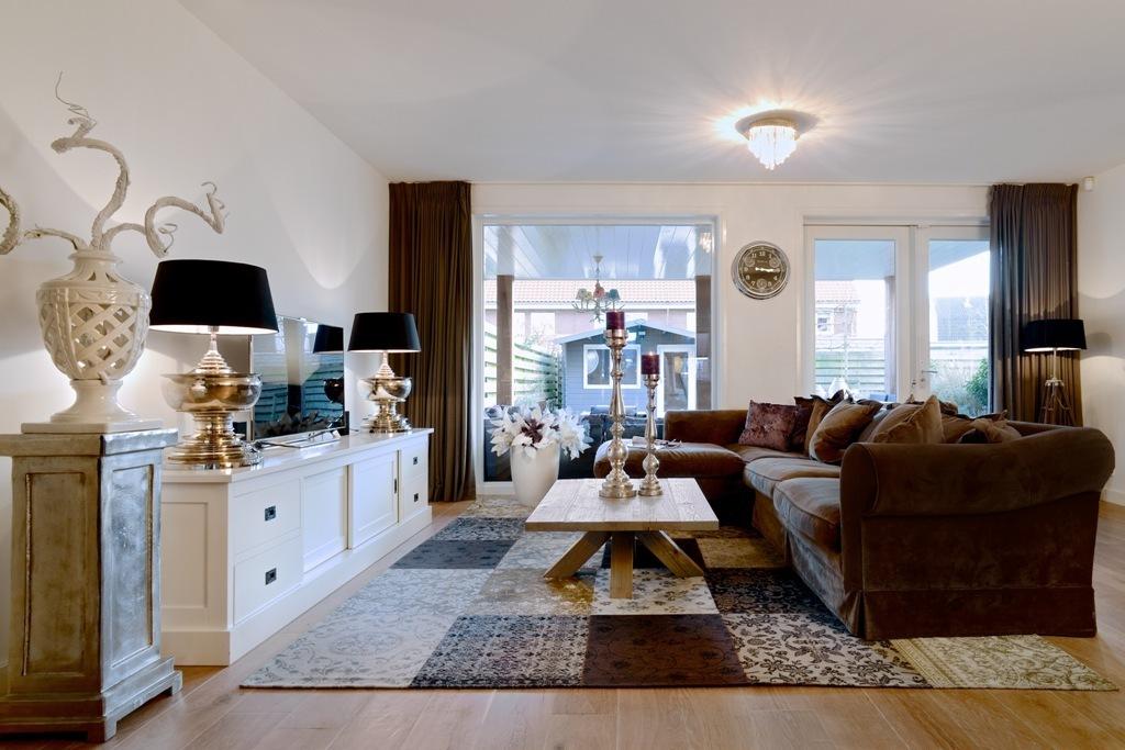 Mobile soggiorno bianco credenze provenzali shabby chic for Mobili x salone