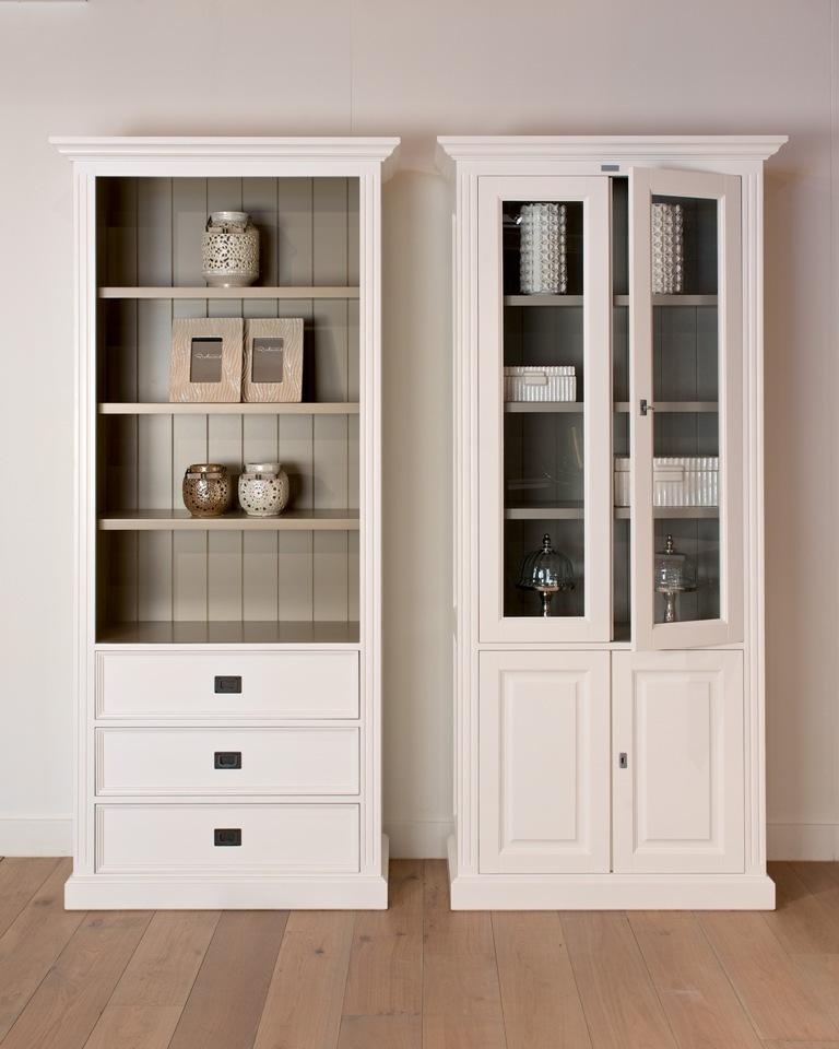 Libreria legno bianco librerie provenzali shabby chic - Mobili legno bianco anticato ...