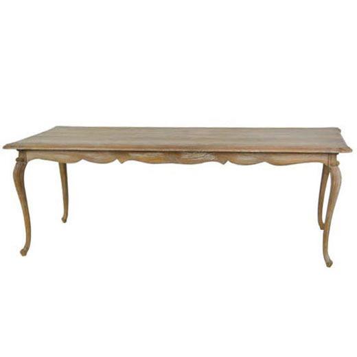 Tavolo pranzo legno decapato mobili etnici provenzali shabby chic - Tavolo decapato ...