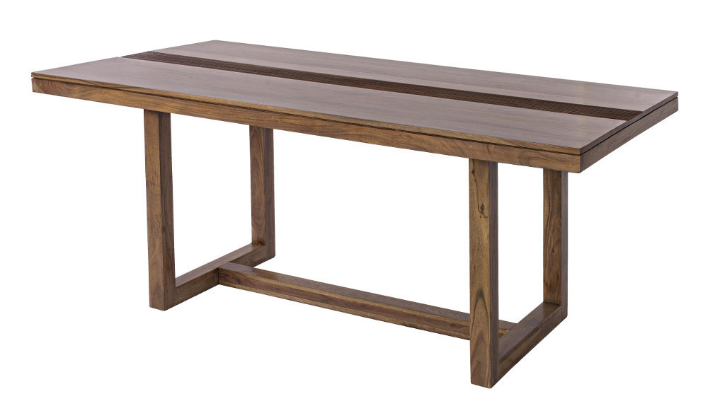 Tavolo etnico legno massello mobili etnici artigianali online - Tavoli artigianali in legno ...