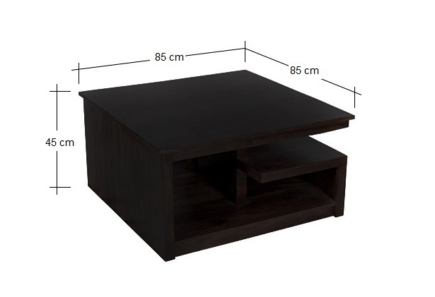 Tavolino etnico legno massello mobili etnici su misura online - Tavoli su misura on line ...