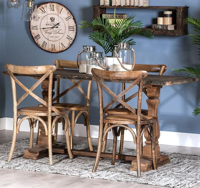 Tavolo legno anticato provenzale mobili etnici provenzali - Mobili decapati provenzali ...