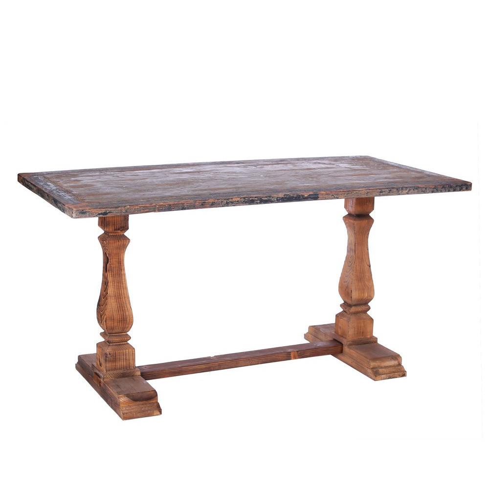 Tavolo legno anticato provenzale mobili etnici provenzali for Tavoli online