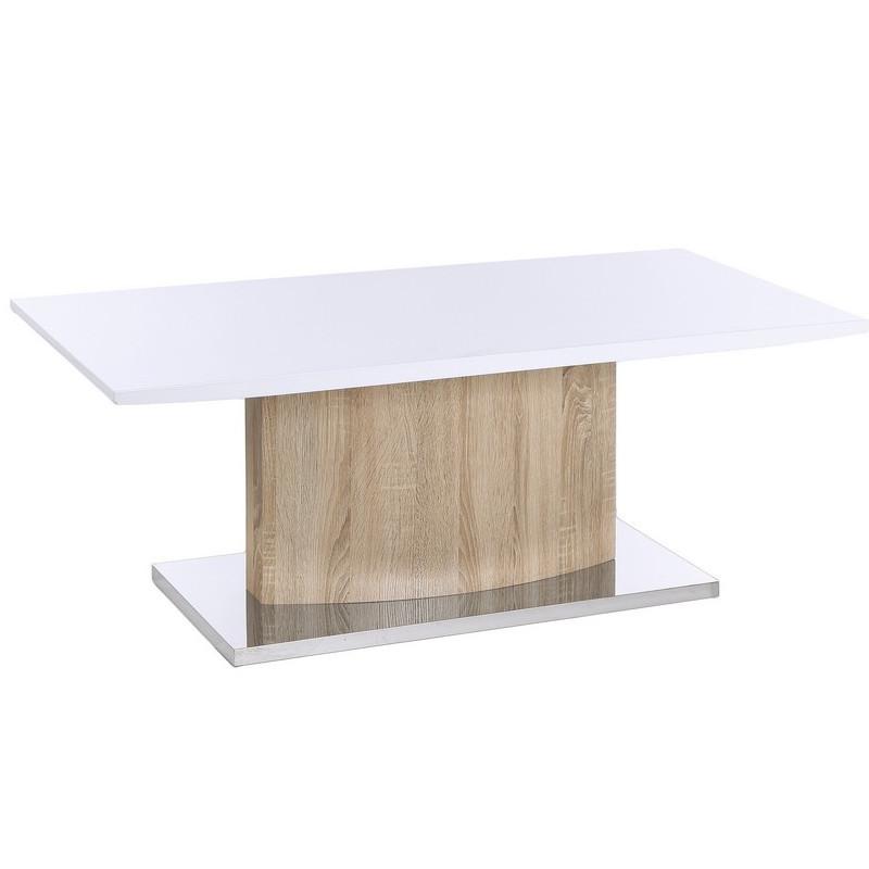 Tavolo basso moderno legno e metallo Mobili moderni online
