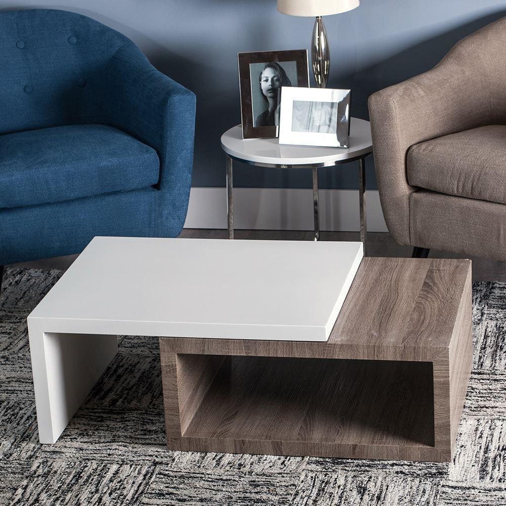 Tavolo basso contemporaneo bicolore mobili contemporanei - Tavolo contemporaneo ...