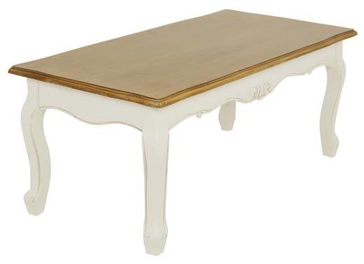 Tavolino bianco provenzale mobili provenzali decapati e shabby for Tavolini bianchi