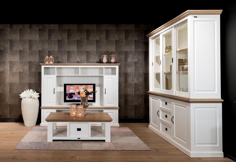Tavolino provenzale con cassetti tavolini provenzali - Parete attrezzata stile provenzale ...