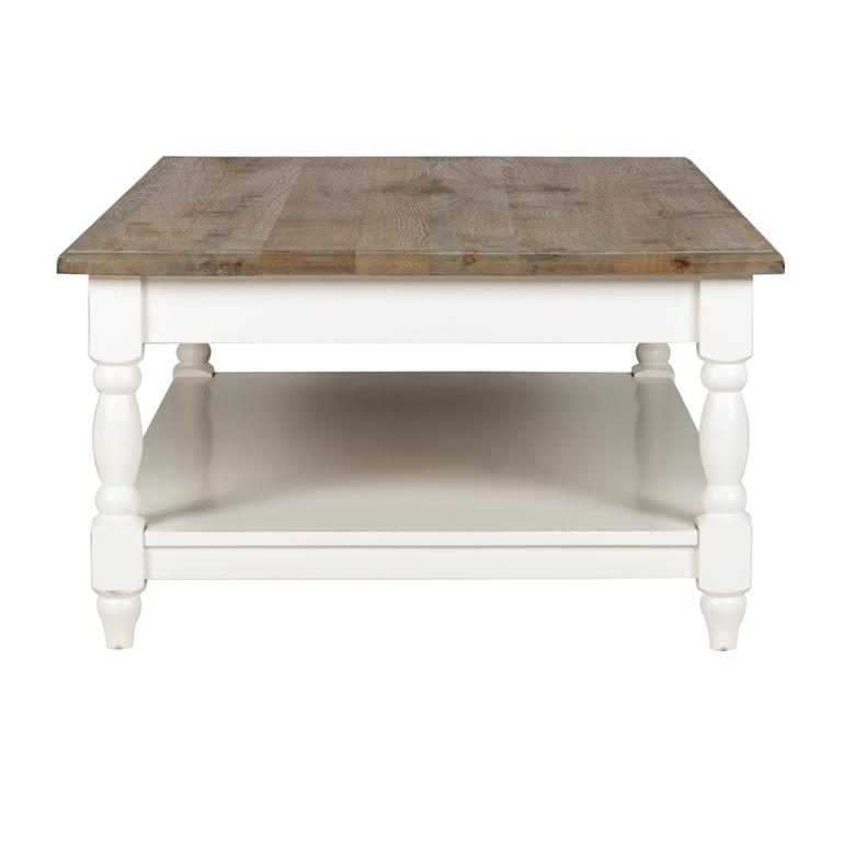 Tavolino salotto bicolore mobili etnici provenzali shabby chic for Tavolino salotto bianco laccato