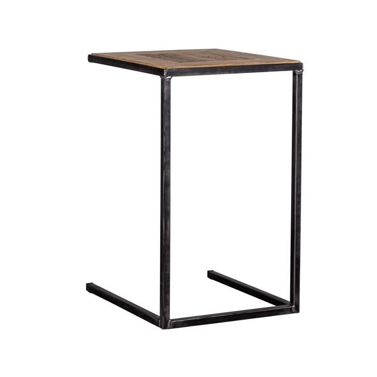 Tavolio da divano industrial mobili etnici vintage - Divano e tavolo da pranzo ...