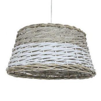 Lampadrio vimini provenzale lampade e luci provenzali online