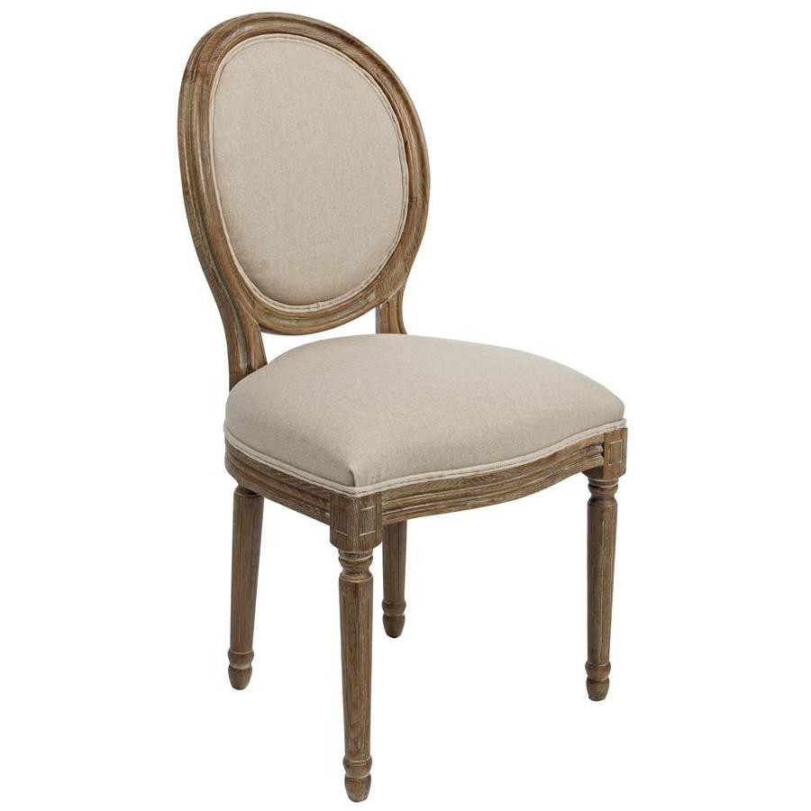 Sedia provenzale elegance sedie e poltrone provenzali online for Rivestimento sedie