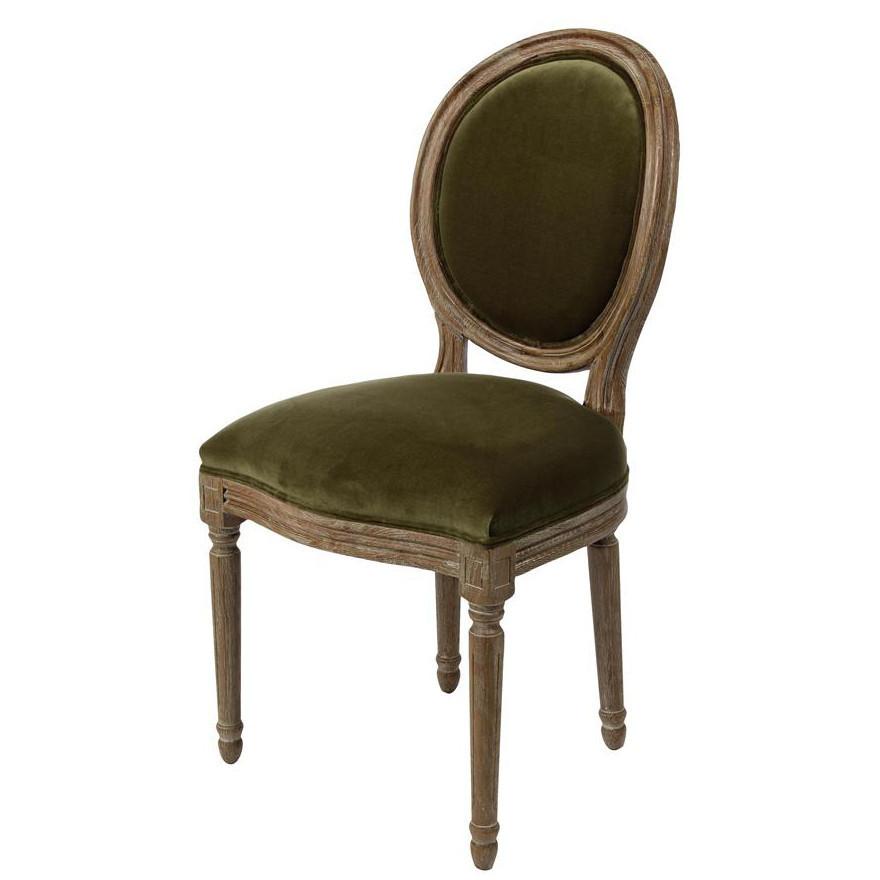 Sedia provenzale verde sedie e poltrone provenzali online for Sedia a dondolo verde