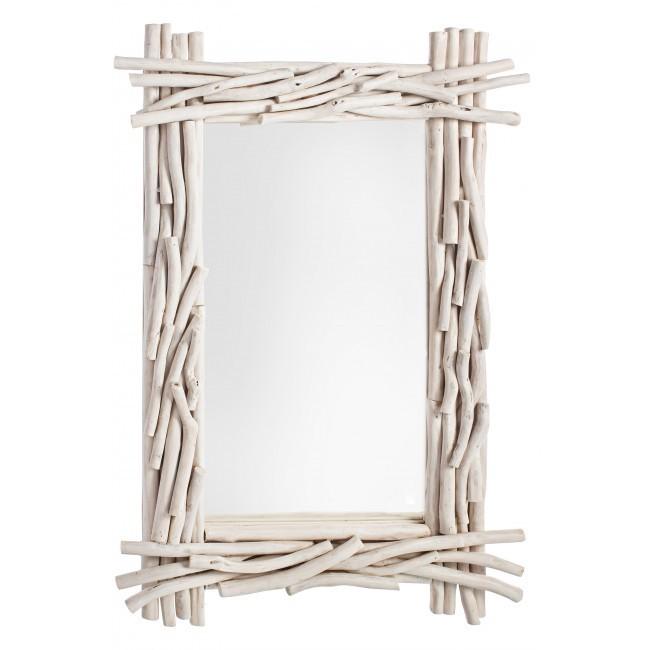 Specchio shabby rami mobili shabby chic industrial vintage - Specchio ovale shabby chic ...