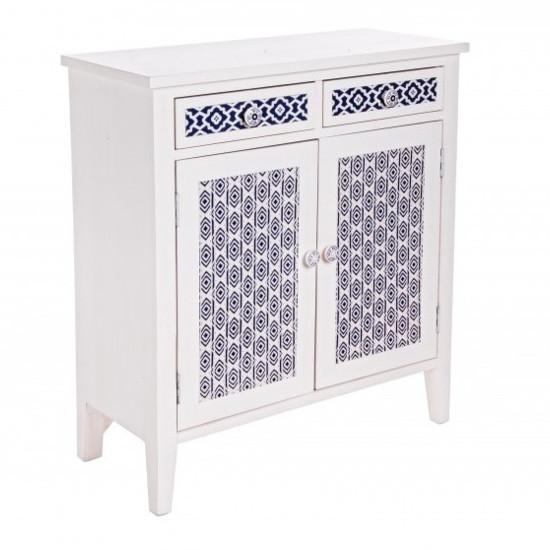 Credenza bianca stile marinaro mobili etnici provenzali shabby - Mobili stile marinaro ...