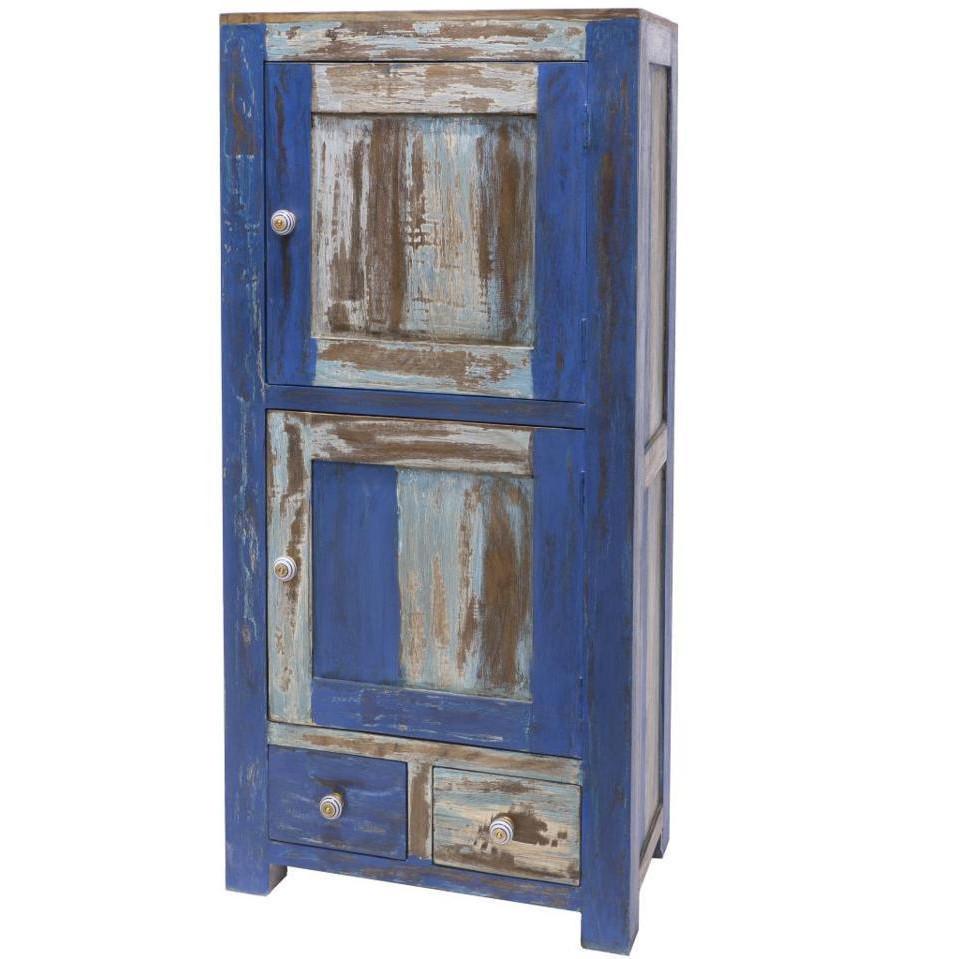 Armadio stile marinaro ethnic chic sito ufficiale mobili industrial vintage e shabby chic - Mobili stile marinaro ...