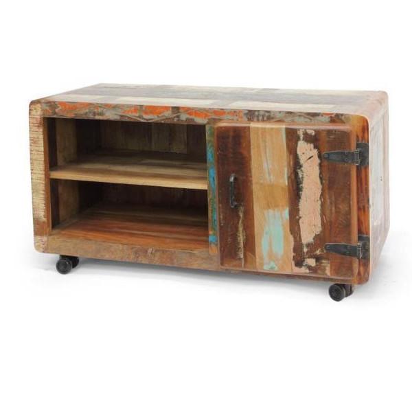 Porta tv vintage multicolor Mobili etnici provenzali shabby chic