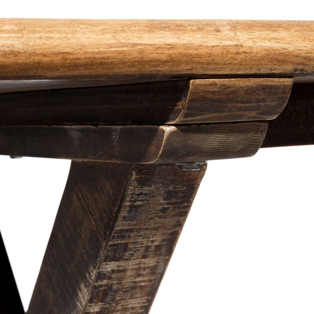 Tavolo etnico legno di mango mobili etnici provenzali - Tavolo di legno ...