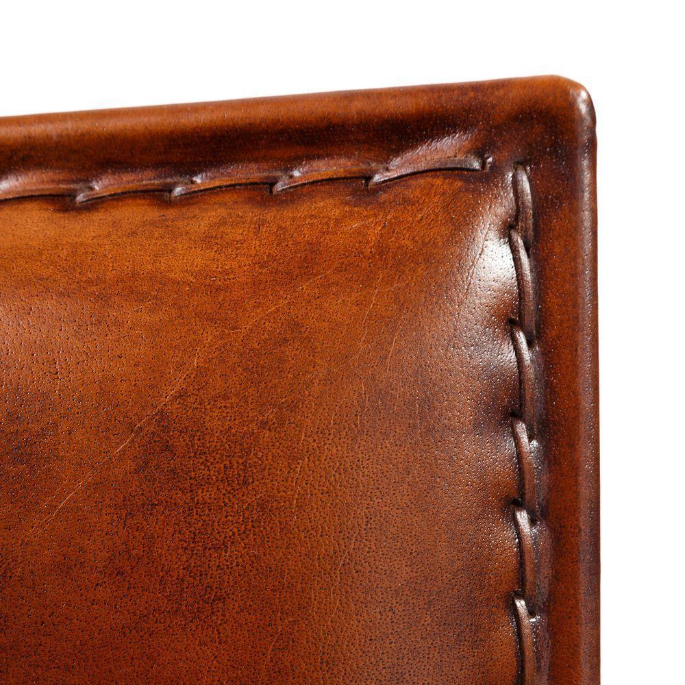 Sgabello ferro e pelle mobili etnici provenzali shabby chic - Mobili in ferro vintage ...