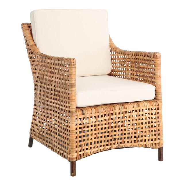 Poltrona rattan color miele mobili da giardino prezzi for Mobili da giardino in offerta