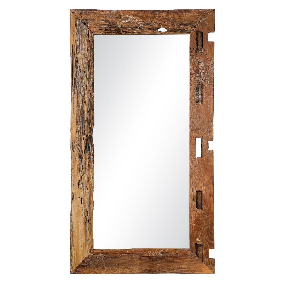 Specchio etnico legno anticato mobili etnici provenzali - Specchio anticato ...